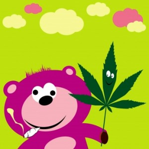 Junky Bear 300x300 Are my parents smoking marijuana?