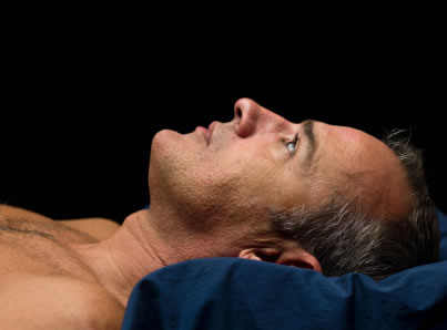 Sleepless Mature Man Insomnia doubles the risk of depression in older men