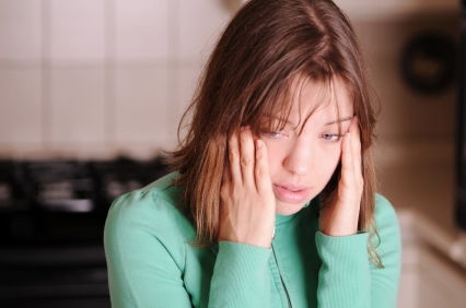 Anxious young woman The role of psychotherapy in anxious depression